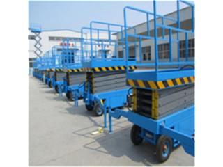 高培店12米14米500公斤移动式液压升降机