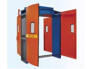 矿用减压风门|弧形全伺服安全联锁减压风门的原理和特点