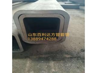 供应无缝方管q345b无缝方管 异形管套管 伸缩套用非标无缝方矩管