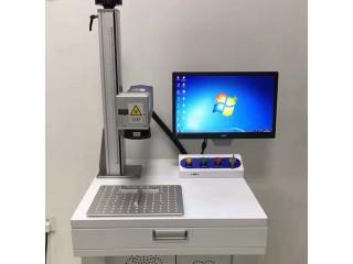 巩义光纤激光打标机 铝板LOGO激光打标机