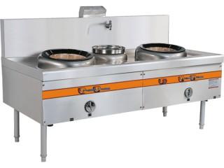 燃气双头单尾小炒炉 厨房设备