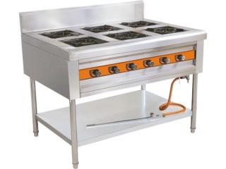 燃气六头煲仔炉 厨房设备
