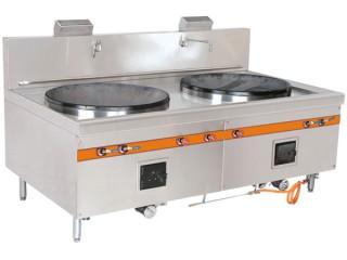 燃气双头大炒炉 厨房设备