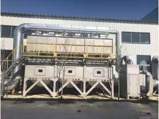 山东催化燃烧环保设备 喷漆房异味废气处理