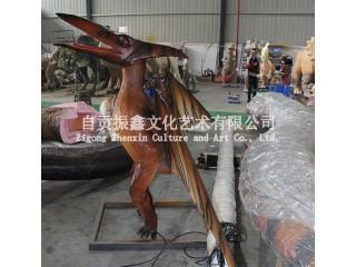 恐龙科普展览模型/电动机械仿真恐龙/仿真风神翼龙/会动会叫的恐龙模型