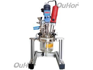 实验室大功率超声波反应釜 超声搅拌反应釜