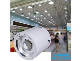 车站月台照明100W筒灯LED明装筒灯吊装型LED灯