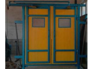竹胶板行人风门,竹胶板行车风门应用指南