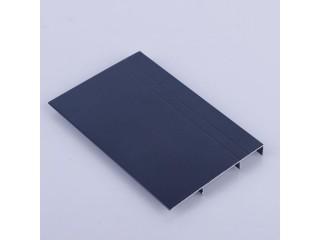 厂家供应铝合金地角线 铝合金踢脚线 金属踢脚线