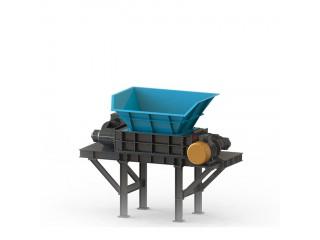 大件垃圾破碎 破碎机价格报价 双轴撕碎机多少钱一台 厂家直供 安徽瓦力