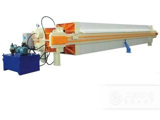 1250型程控自动拉板厢式压滤机 洗沙污水压滤机