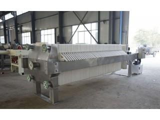 贝邦环保 630型不锈钢板框式压滤机 啤酒过滤