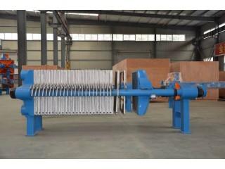 贝邦 800型铸铁板框式压滤机 耐高温压滤机