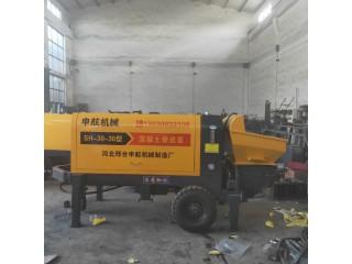 工地施工便捷首选 混凝土泵