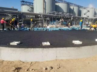 河北保定罐底防腐沥青砂受压不变形高强度的关键