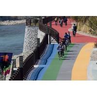 山西阳泉彩色路面改色剂颠覆泛白路面新认知