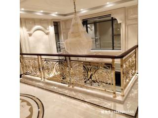 别墅高雅铝雕刻护栏值得安装