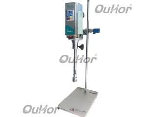 实验室数显电动搅拌机调速定时研磨工业高速大功率恒速分散搅拌器EA300-T