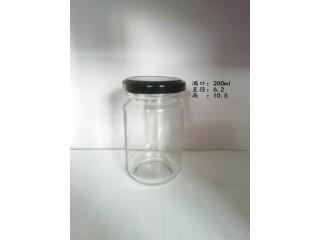 200克4两酱菜玻璃瓶香菇酱瓶