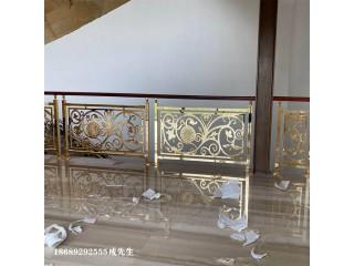 惠州实心铜制楼梯围栏业主坦言一看就喜欢