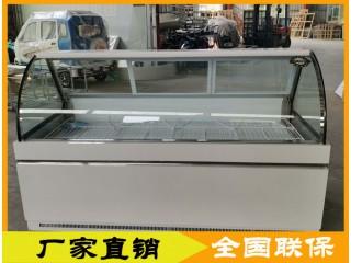 餐车冷柜,移动餐车用串串展示柜