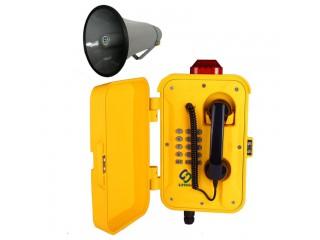 高噪音环境扩音对讲电话机,广播呼叫系统,抗噪音SIP广播电话