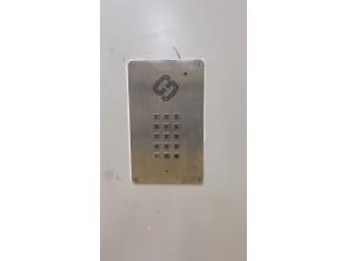 洁净室专用电话机,负压车间专用嵌入式不锈钢电话机SIP-IT-13