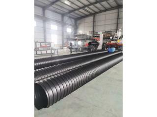 HDPE钢带增强波纹管厂家 排污钢带波纹管 只做纯原料管材