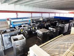 吉林二手海狮力净百强折叠机吉林出售100公斤川岛水洗机九成新