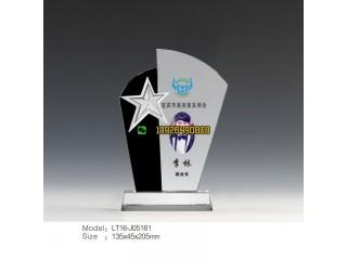 美容美发奖杯 美发行业评选表彰奖杯 创意五角星奖杯批发