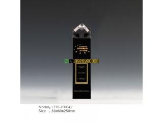水晶奖牌专业奖杯定制公司企业员工活动比赛表彰奖章可刻字雕LOGO