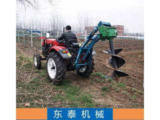 东泰机械供应柴油机带种树挖坑机植树挖坑机