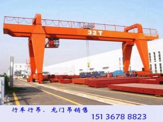 安徽黄山龙门吊销售厂家5T-14M龙门吊参数